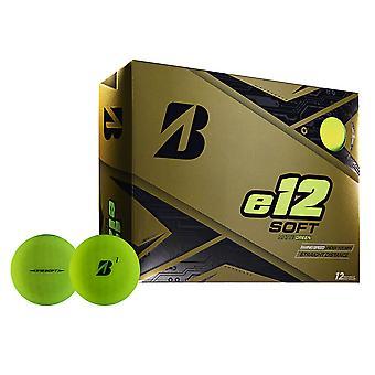 Bridgestone Unisex 2019 e12 Soft Matte Golfkugeln