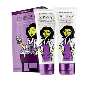 Kp 'double' Duty Duo Pack - Dermatologist Moisturizing Therapy (for Dry Skin) - 2x120ml/4oz