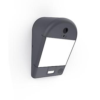 Lutec Mimo Security PIR Motion Sensor LED Light In Graphite
