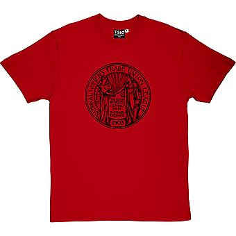 Camiseta Women's Trade Union League Red Men's
