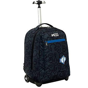 Big Trolley Appack - MICRO MACRO - Blue - 35 Lt - 2in1 Return Shoulder Backpack - School & Travel