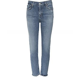 Citizens of Humanity Slim Fit Harlow Ankle Jeans