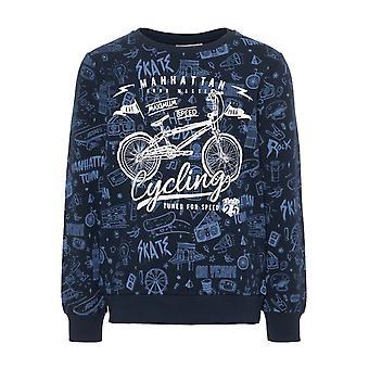 Name-It Blauwe Jongens Sweater Kriss