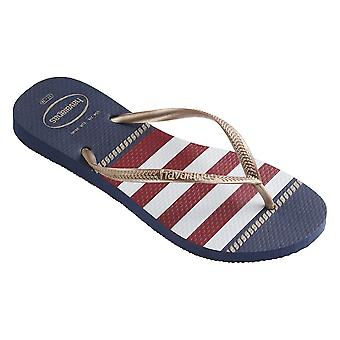 Havaianas Slim Nautical 4 137 125 41371250555 water summer women shoes