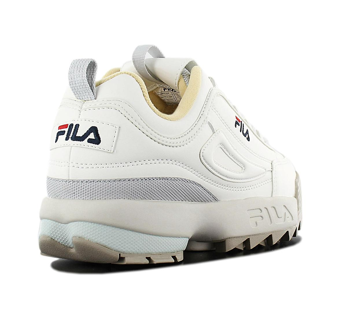 Fila Disruptor CB Low 1010604.02X Damen Schuhe Weiß Sneaker Sportschuhe