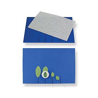 PME Small Veining Board - Blauw