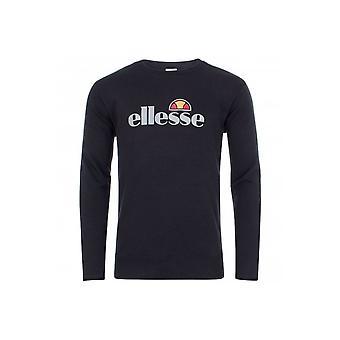 אלילסה לאטי 2 צוואר הצוות לוגו שחור החולצה שחורה