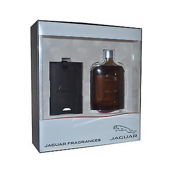 Amber clássico por Jaguar Eau de Toilette Spray 100ml com etiqueta de bagagem