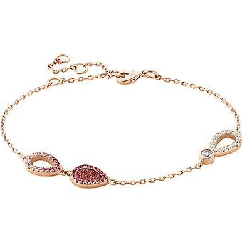 Zeades Sbc01082 bracelet - Bracelet Rose Gold Leather woman
