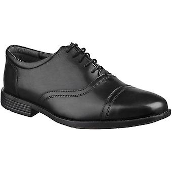 Grosvenor Mens Gladstone Toecap Oxford Padded Lace Up Shoes