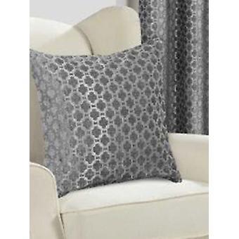 Belle Maison Cushion Cover - Palermo Range, Silver