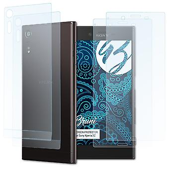 Bruni 2x Screen Protector compatible with Sony Xperia XZ Protective Film