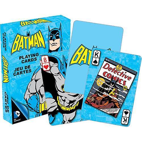 العاصمة كاريكاتير باتمان الرجعية لعب بطاقات