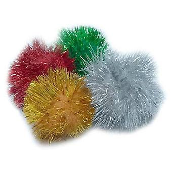 Pawise Cubo Giocattoli Paws-Pompon (Gatti , Giochi , Palle)