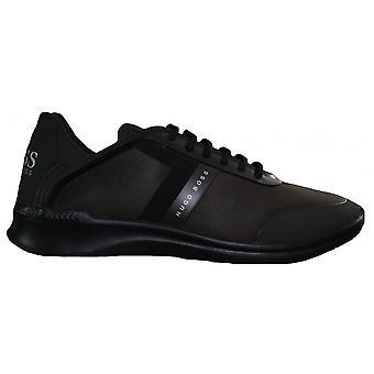 Hugo Boss Footwear Hugo Boss Green Men's Dark Green Extreme_Runn_Neo Trainers