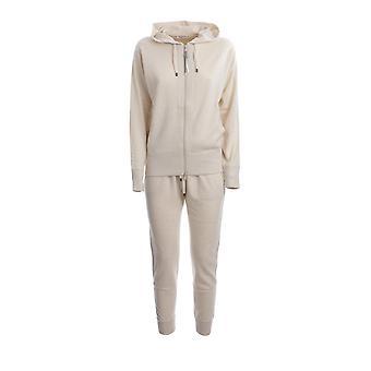 Brunello Cucinelli M12169106cq005 Damen's Weißer Baumwoll-Jumpsuit