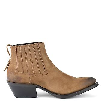 Ash PACO BIS Boots Distressed Russet Suede