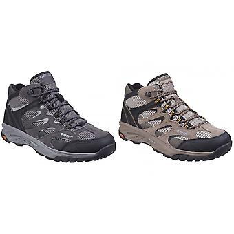 Hi-Tec Mens Wild-Fire Mid I Waterproof Walking Boots