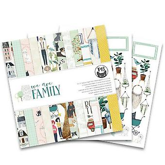 "Piatek13 12""x12"" Paper Pad - We Are Family, 12 Sheets"