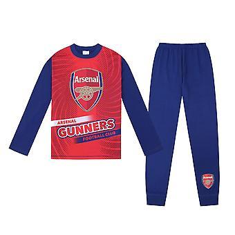 Arsenal FC Official Football Gift Boys Sublimation Long Pyjamas