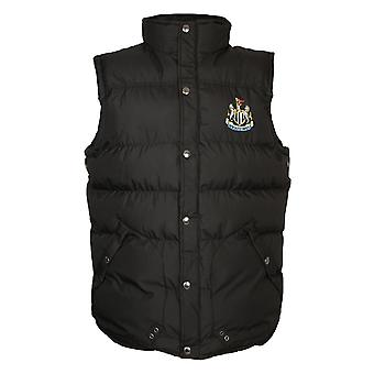 Newcastle United FC Official Football Gift Boys wyściełane Ciało Cieplej Gilet