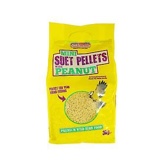 Suet to go pellets - mini pellets with peanut 3kg