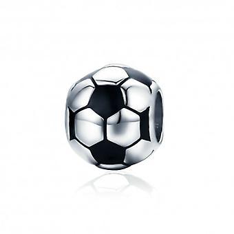 Charm En Argent Football - 5596