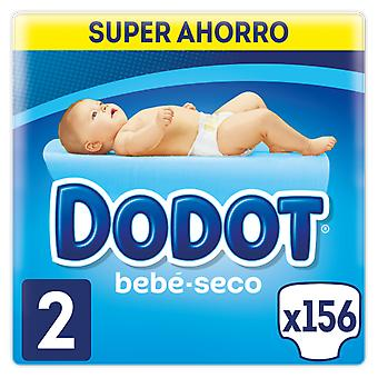 Dodot Dry Baby Diapers Size 2 156 units