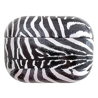 For AirPods Pro Case, Animal Print Protective Earphone Cover, Zebra