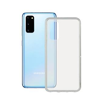 Cover for Mobile with Samsung Galaxy S20 TPU Edge Contact Flex Transparent