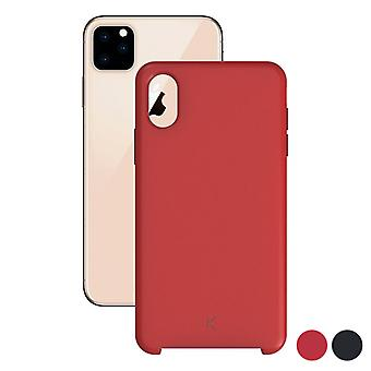 Mobiele cover Iphone 11 Pro Contact TPU/Rood