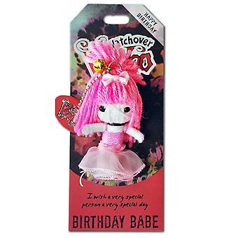 Watchover Voodoo Dolls Birthday Babe Voodoo Keyring