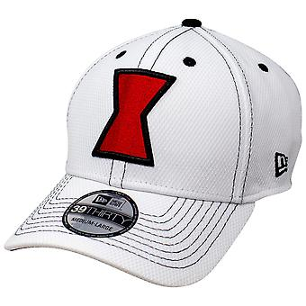 Black Widow Movie White Costume New Era 39Thirty Chapeau ajusté