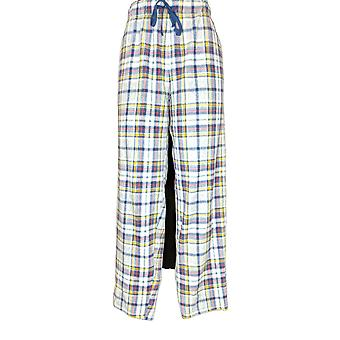 Cuddl Duds Women's Pajama Pants Fleecewear Stretch Novelty Blue A371296