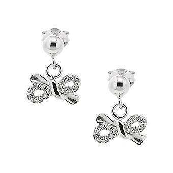 Bijoux pour tous Donna Argent 925 Silver Ronde Zirconium Oxide 1905066RH