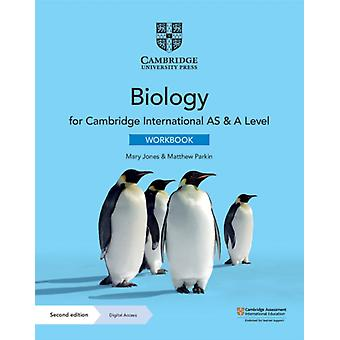 Cambridge International AS  A Level Biology Workbook with D by Mary Jones
