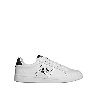 Fred Perry Men's B721 Leather Low Top Sneakers