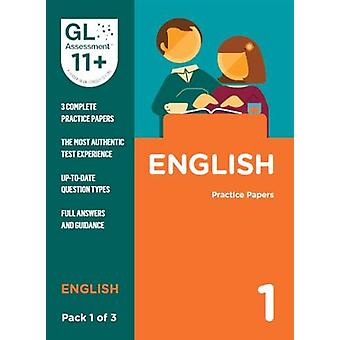 11+ Practice Papers English Pack 1 (Multiple Choice) by GL Assessment