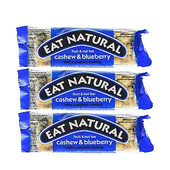 12 x Cashew & Blueberry Fruit & Nut 45g Bars Healthy Food Nutrients Natural