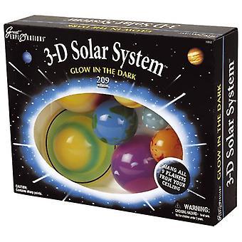 3D solsystemet