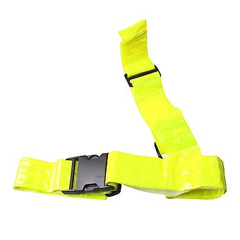 Muddyfox Sash Belt Sport Reflective Fluorescent Adjustable Fit Clip Fastening