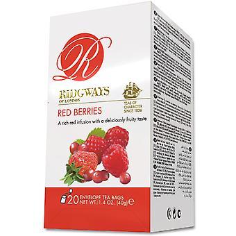 Ridgways Red Berries Envelope Tea Bags