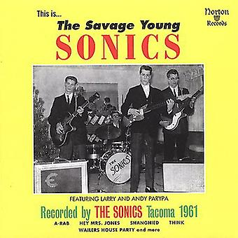 Sonics - Savage Young Sonics [CD] USA import