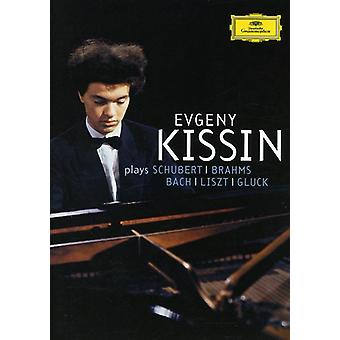 Evgeny Kissin - Evgeny Kissin Spelar Schubert, Brahms, Bach, Liszt, Gluck [DVD Video] [DVD] USA import