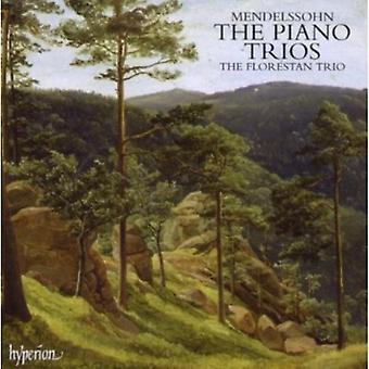 F. Mendelssohn - Mendelssohn: The Piano Trios [CD] USA import