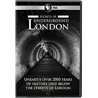 Secrets of London Underground [DVD] USA import