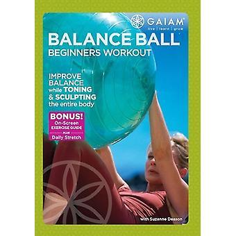 Balance Ball Beginners Workout [DVD] USA import