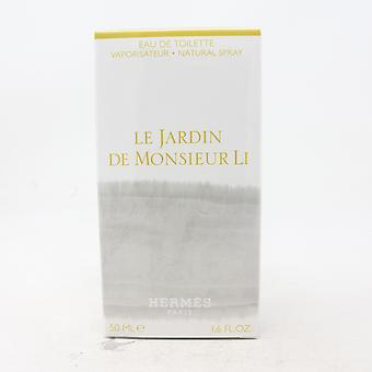 Le Jardin De Monsieur Li van Hermes Eau De Toilette 1.6oz/50ml Spray Nieuw met doos