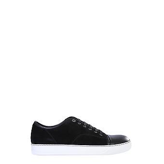 Lanvin Fmskdbb1anapp1510 Men's Black Leather Sneakers