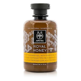 Royal honung krämig duschgel med eteriska oljor 206423 300ml/10.14oz